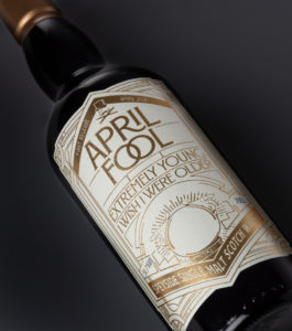 April Fool's Whisky - этикетка бутылки - The Whisky Exchange.