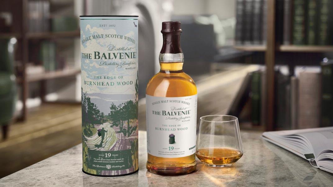 Новая коллекция Balvenie The Edge of Burnhead Wood.