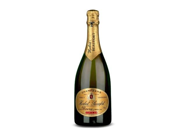 Шампанское Herbert Beaufort grand cru