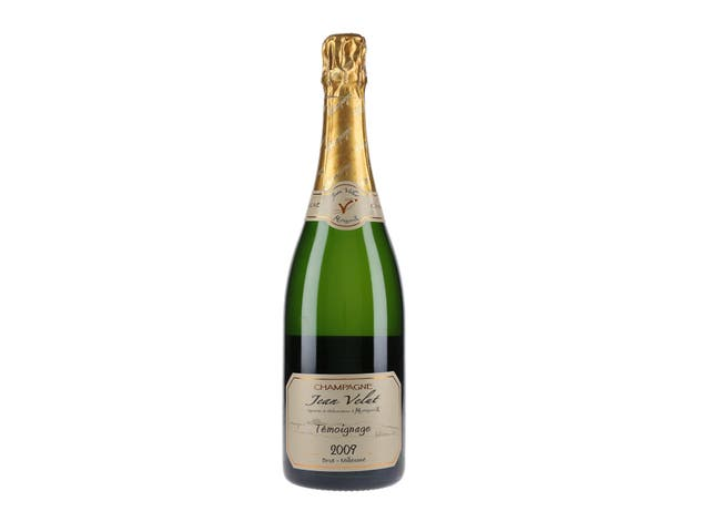 Jean Velut temoignage 2009 brut шампанское