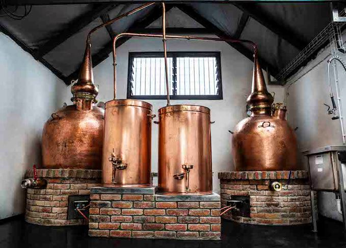Single pot still Irish whiskey